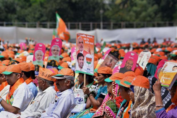 The agencies that ran BJP's campaign replicated the strategy used for the general elections. Image: Live Mint